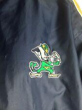 RARE Notre Dame Fighting Irish Full Zip Hoodie Fleece Jacket Men's M MEDIUM