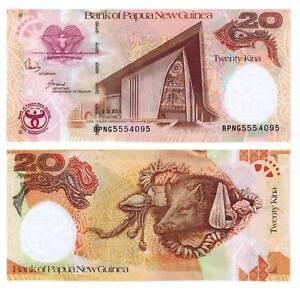 Unter Der Voraussetzung Pick 36 Papua Neuguinea 20 Kina 2008 Unc. / 398874vvv Kaufen Sie Immer Gut