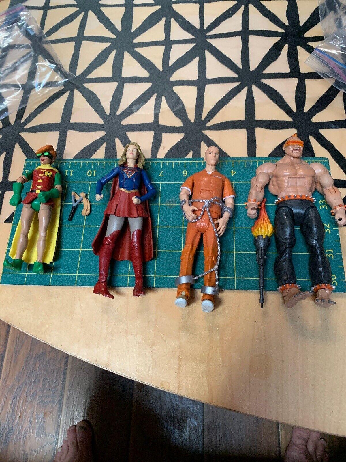 DC Comics Multiverse nuovo 52 Doomsday Lot  Lex Luthor Robin Supergirl Mutant Set  Sconto del 40%