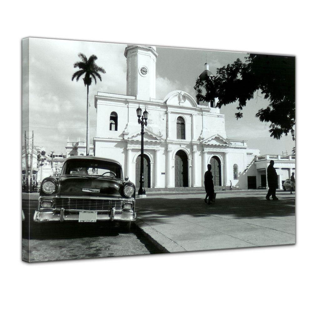 Leinwandbild - Oldtimer - Kuba