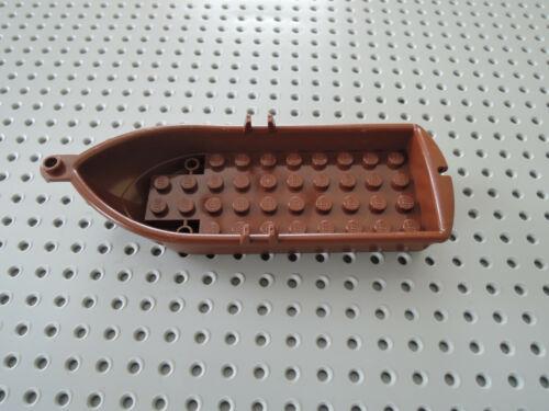 Lego Boot Ruderboot Piratenboot 2551 rotbraun