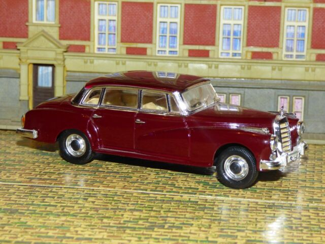 RARE, 1:43,rio, Mercedes-Benz type 300 D, (w189) Bordeaux, archives, collection
