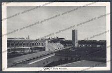 TORINO CITTÀ 347 STADIO MUSSOLINI - SPORT CALCIO - FASCISMO Cartolina viag 1935
