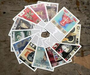 Twelve-Tribes-of-Israel-set-of-postcards-Zodiac-signs-according-to-Judaism