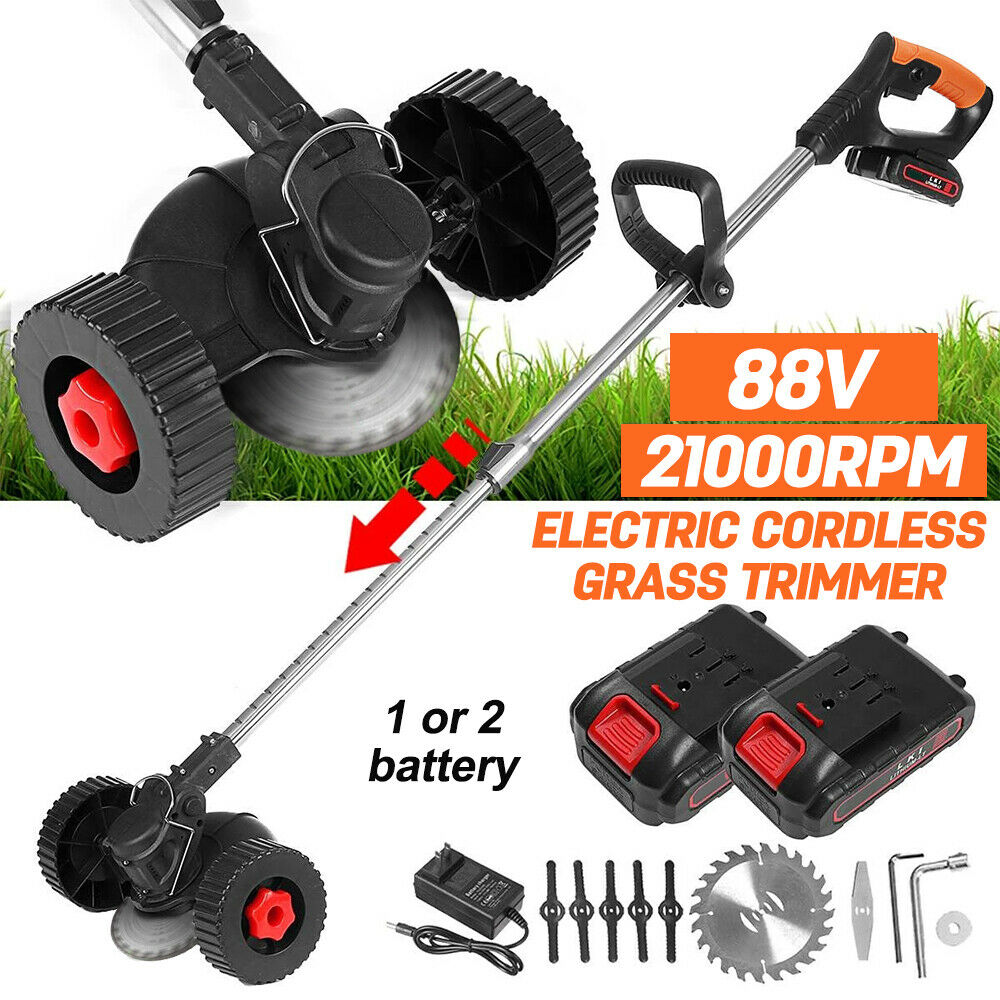 1200W Electric Weed Eater Lawn Edger Cordless Grass String T