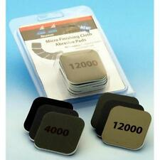 Micro Finishing Cloth Abrasive Pads Starter Set 6 Pad Pack 2000