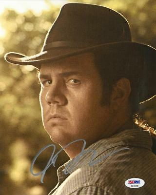 Movies Josh Mcdermott Signed Walking Dead Autographed 8x10 Photo Psa/dna #ae45958