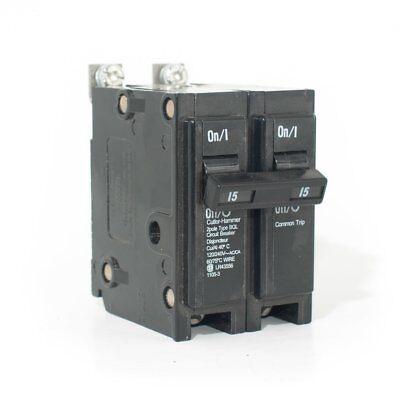 USED COMMANDER  QB 1 POLE 15 AMP BOLT-ON BREAKER