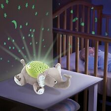 Nursery Cot Mobile Room Baby Light Projector Elephant Boy Girl Night Sleep LED
