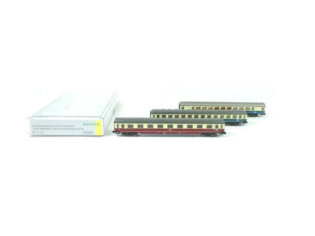 Minitrix N 15460, Schnellzugwagen Set IC 611 Gutenberg, Teil 2, neu, OVP