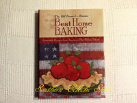 The Old Farmer's Almanac Best Home Baking Recipe Cookbook From Fairs & Festivals