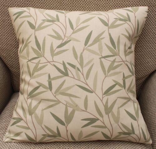 Laura Ashley housses de coussin Auvent Hedgerow willow leaf Wisteria Différentes Tailles