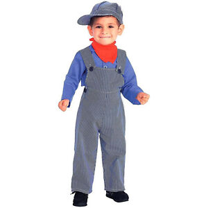 3951297b3a8 Image is loading Lil-Engineer-Train-Conductor-Boys-Child-Costume-FORUM-