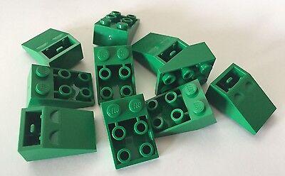 grau grau 8 x Lego 3660 Lego Dach Dach Ziegel 2x2 Steigung invertiert neu NEW