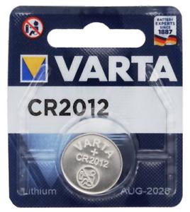 VARTA CR2012 Bouton Lithium 3 V Pile - Blister - Date 2028