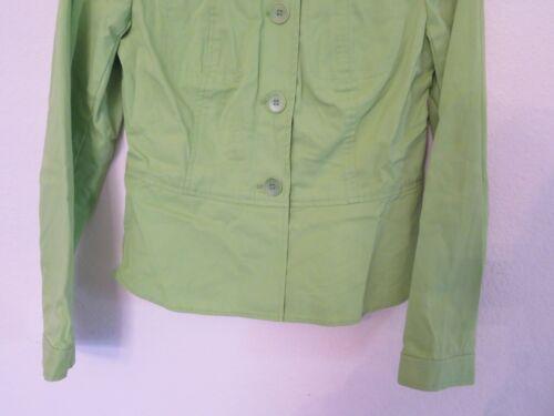 Da Khaki Etichette Nuovo Talbots Lime Verde Bottoni Donna A Giacca Con z1qFxqE