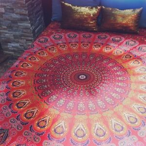 Indian-Mandala-Tapestry-Hippie-Wall-Hanging-Bedding-Bedspread-Bed-Cover-Throw