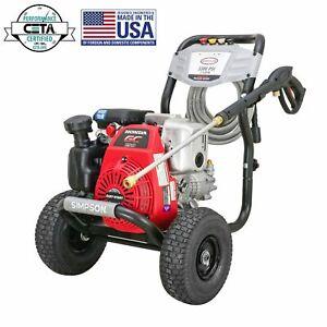 Simpson-Megashot-3-300-PSI-2-4-GPM-Gas-Pressure-Washer-with-Honda-Engine