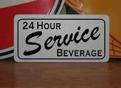 DRINKING WATER Metal Sign 6x12 Food Beverage Retro Vintage RV Trailer Concession