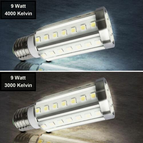 A LED Leuchtmittel Lampe Leuchte Beleuchtung E27-Fassung Glühbirne 4000K 3000K