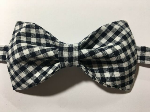 Classic New Charcoal Gray Men/'s Pre-tied Bowtie Bow tie wedding Party Prom
