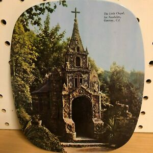 French-Beverage-Coaster-The-Little-Chapel-Les-Vauxbelets-Guerney-C-I-6-25-034-x7-5-034