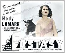 8x10 Print Hedy Lamarr Ecstasy 1936 #HLE