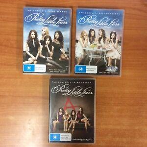 Pretty-Little-Liars-Seasons-1-3-17-Disc-Set-Excellent-Condition-R4
