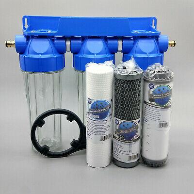 "5 x Carbon Block Drinking Water Filter Replacements Dechlorinator HMA Koi 10/"""