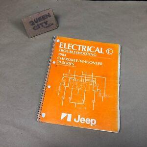 1984 jeep cherokee wiring diagram 1984 amc jeep wagoneer cherokee electrical service manual wiring  1984 amc jeep wagoneer cherokee