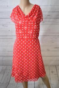 Comma Damen Kleid, Knielang, Gr. 34, Rot | eBay