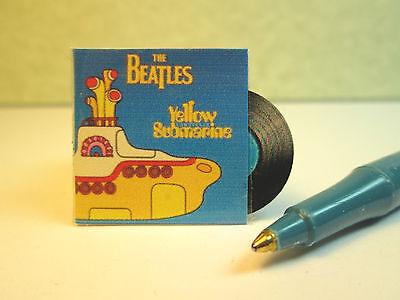 Miniature Rock Record Album Artist : Dollhouse RA4