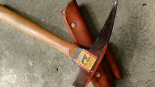 Vintage Norlund Hudson Bay Pick Axe with Sleeve 13 inch long