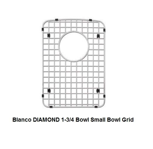 BLANCO 231342 Stainless Steel Sink Grid For BLANCO DIAMOND 1 3/4 Small Bowl