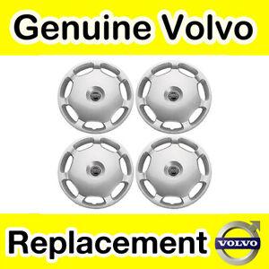 Genuine-Volvo-15-Wheel-Hub-Cap-Set-x4