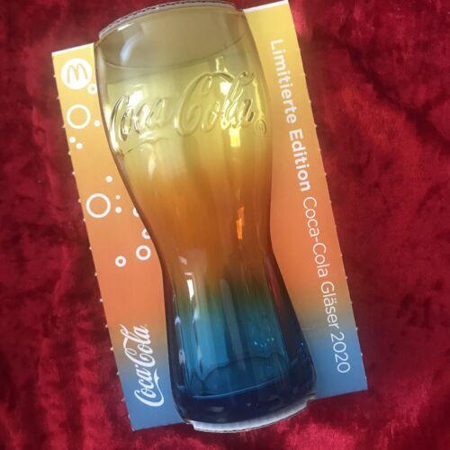 McDonald's Coca-Cola Glas 2020 Regenbogen Limitiert Neu Rainbow Glass Germany