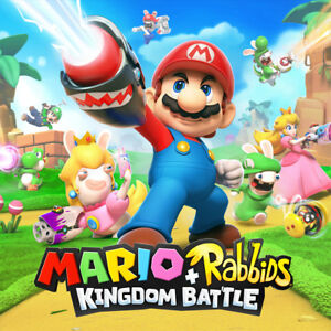 968212df3959 Image is loading Mario-Rabbids-Kingdom-Battle-Nintendo-Switch-2017-NEW-