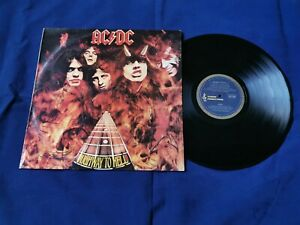 AC/DC Highway To Hell Aussie 1979 1st Press Blue Label ...