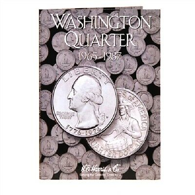 Harris Coin Folder # 2690 Washington quarters #3 1965-1987 H.E