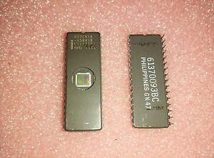 Intel D27C010-150 128Kx8-Bit 1M UV-EPROM Memory Ceramic IC DIP-32-Pin 150ns 13V