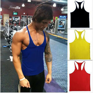 d177c745907a4 Men ZYZZ Gym Singlet Stringer Muscle Tank Tops Fitness Sport Shirt Y ...
