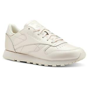 REEBOK-CLASSIC-WOMEN-039-S-LEATHER-TRAINER-PINK-SNEAKERS-SHOES-RETRO-80S-90S-SALE
