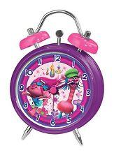 DreamWorks Trolle Mini Doppelklingel Alarm Uhr NEU