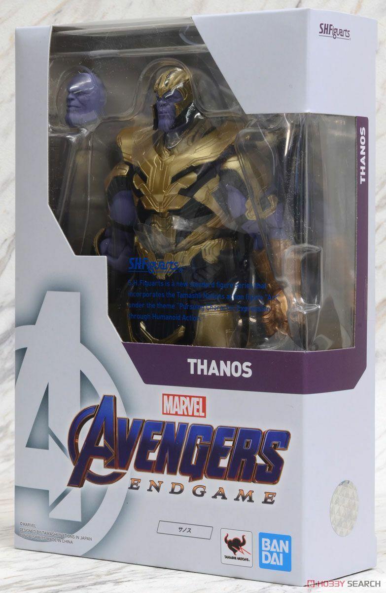 Marvel Avengers  Endgioco THANOS S.H.Figuarts  Beai Tamashii azione cifra  a buon mercato