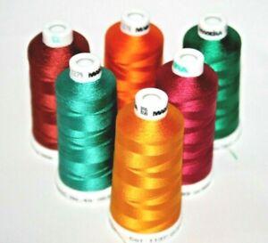 Madeira-Classic-No-40-Machine-Embroidery-Thread-100-Viscose-1000m-6-Colours