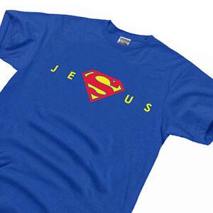 Men-039-s-Super-Jesus-Christ-Homeboy-Superstar-holy-bible-gift-Christian-T-Shirt