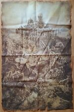 Dark Souls III Collector's Edition Cloth Map Only