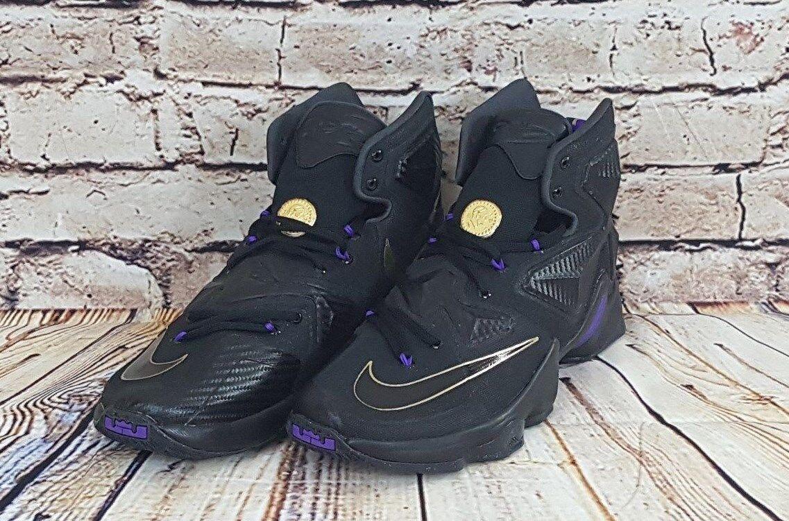 Nike Lebron XIII 807219-007 Black Metallic gold