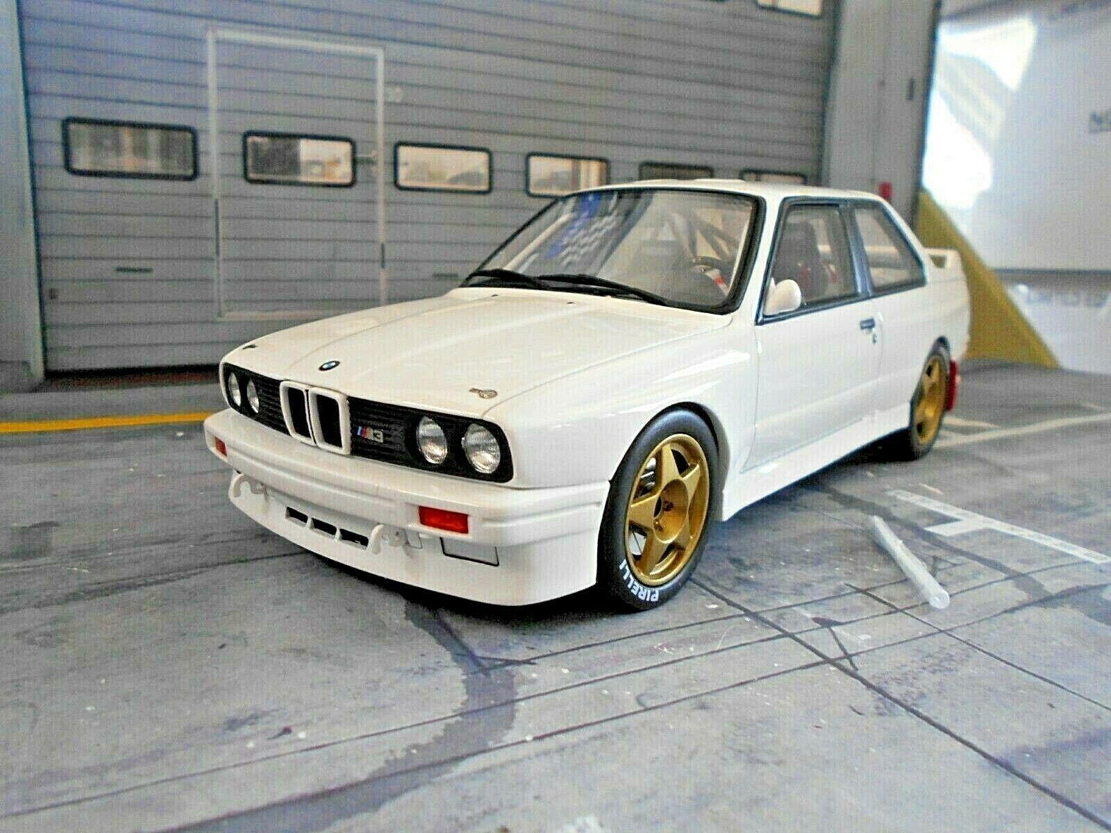 Bmw m3 e30 rally talla a Prodrive rally Whit Weiss plainbody test 1989 Otto 1 18