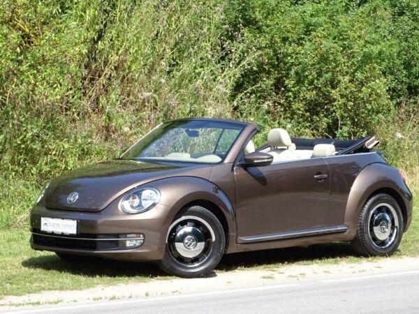 VW The Beetle 1,4 TSi 160 Design Cabriolet DSG - billede 1
